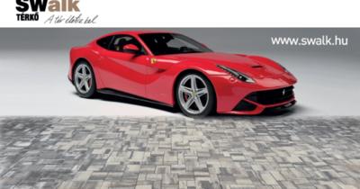 A térkövezés fáradalmai után dőljön hátra egy Ferrariban!