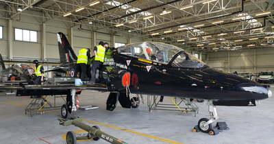 Gyakorlat: brit és magyar vadászgépek csatáznak Kecskemét légterében