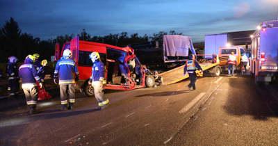 Háromgyerekes tűzoltó apuka veszítette életét az M1-esen történt balesetben