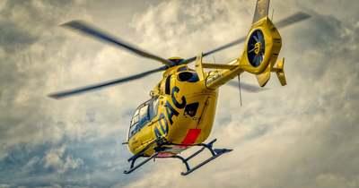 Román mentőhelikopter érkezett az országba, vészhelyzet volt