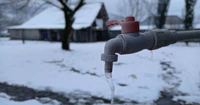 Ne felejtse el téliesíteni a vízvezetékeket, mérőórákat