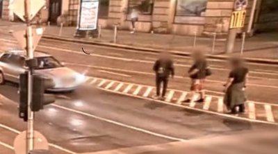 Brutális dolgot rögzített a térfigyelő kamera Budapesten, azonnal mentőért kiáltottak