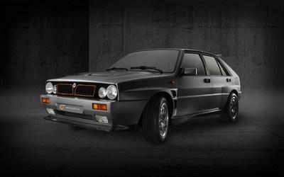 Elektromos élményautóként tér vissza az olasz ralilegenda - Lancia Delta Evo-e galéria