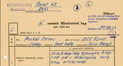 """Puskás, a """"hazaáruló"""" – titkos levéltári iratok Puskás Ferencről"""
