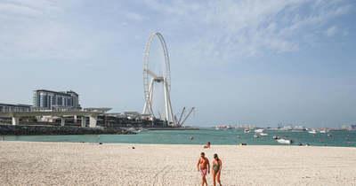 A világ legmagasabb óriáskerekét avatták fel Dubajban