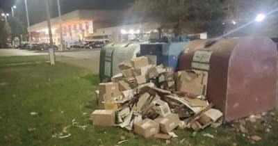 Nagy mennyiségű illegális hulladékot találtak a szolnoki vasútállomásnál