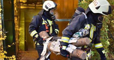 Az életmentést gyakorolták a Heves megyei tűzoltók (fotók)