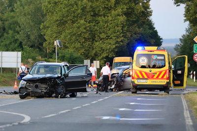 Döbbenetes felvétel készült az M5-ös autópályán történt nyolcas karambolról