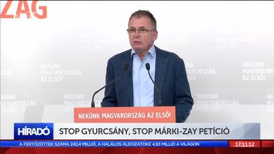 Stop Gyurcsány, stop Márki-Zay! petíció