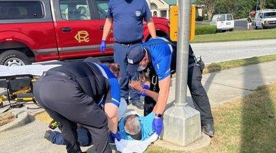Utcára tették a beteget, a kórház előtt esett össze