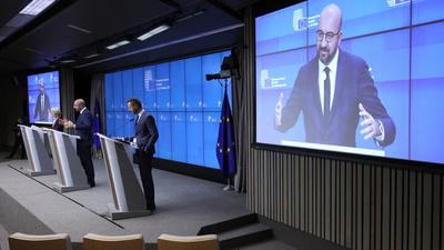 Charles Michel: Párbeszédre van szükség Lengyelországgal
