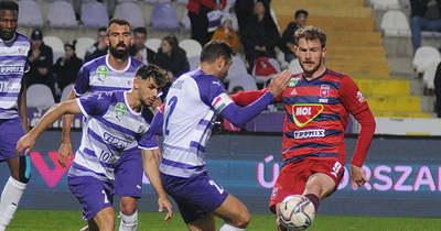 Hiba hiba hátán – A Mol Fehérvár FC emberelőnyben játszva kapott ki Újpesten