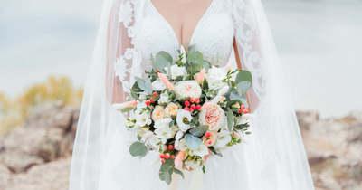 Ilyen gyönyörű menyasszony volt a luxusfeleség