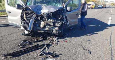 Megrázó fotókon az M3-ason történt halálos baleset