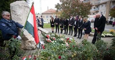 56-ra emlékeztek megyeszerte, így Zalaegerszegen is