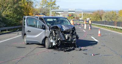 Halálos baleset: megszűnt az útlezárás az M3-as autópályán – Fotók