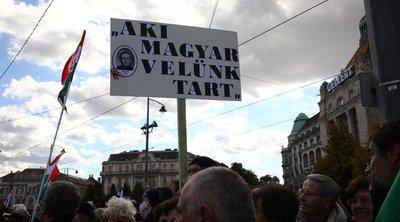 Óriási tömeg a Békemeneten, olasz es lengyel hazafiak is feltűntek
