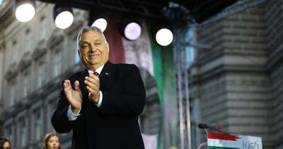 Orbán Viktor: Talpra állítottuk Magyarországot