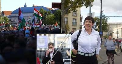 Több százezren voltak a Békemeneten, alig néhány ezren a baloldali rendezvényen