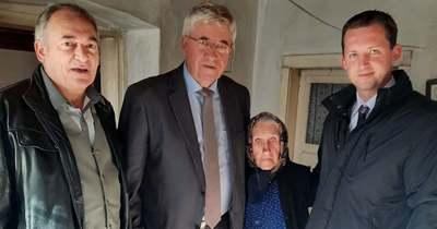 Századik születésnapján köszöntötték a borzavári Auer Rozáliát