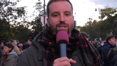 Gulyás Márton ellenzéki felszólalások alatt nézte Orbán beszédét, amiben szerinte nem voltak emlékezetes mondatok
