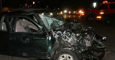 Három autó ütközött össze Doboznál