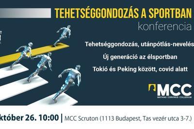Tehetséggondozás a sportban konferencia
