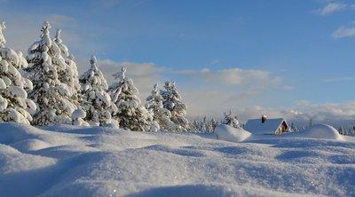 40 centis hó és mínusz 25 fok: brutális idő csapott le a svédeknél