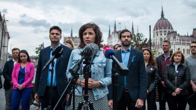 Bejelentette a Momentum, hogy Fekete-Győr lesz a listavezetője, pedig nem is lesz önálló listája a pártnak jövőre