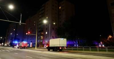 Füst okozott riadalmat Győrben a Szigethy Attila úton