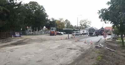 Megkezdődött Kapuváron az Osli út felújítása – videón a munkálatok
