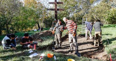 Több mint hetven év után újraindultak a régészeti ásatások a vasvári Szent Mihály-dombon – fotók