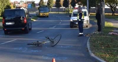 Elgázoltak egy kerékpárost Sopronban