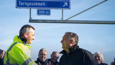 Orbán: Utakat kell építeni, amelyek összekötik a vidék különböző részeit