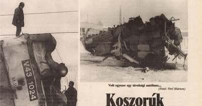 Hat halálos áldozatot követelt a tragikus vasúti baleset Atkár és Csány között
