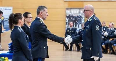 Tolna megyei rendőrök kaptak rangos elismeréseket