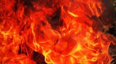 Robbanás és óriási lángok Nagykátán