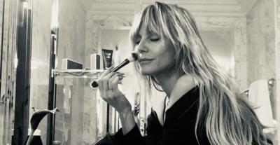 Heidi Klum félmeztelen videójától rosszul leszel