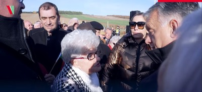 Olyat mondott egy néni Orbán Viktornak, hogy még a kormányfő szava is elakadt