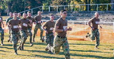 Veszprémben rendezték a honvédség mezei futóbajnokságát