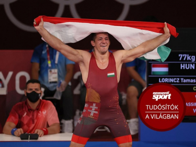 Tokió 2020: nézze vissza, miként lett olimpiai bajnok Lőrincz Tamás! – videó