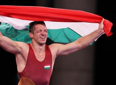 Videón a mindent eldöntő pillanat: így lett olimpiai bajnok Lőrincz Tamás!