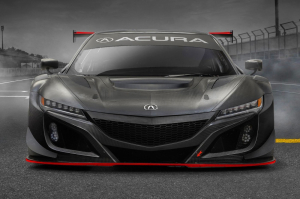 Ütőképesebb lett a Honda NSX versenyautó