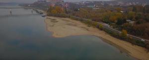 Megdöbbentő légi felvételeken az extrém alacsony Kis- és Nagy-Duna