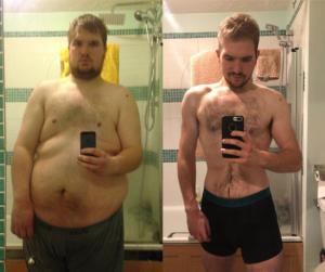 Nem fért be a körhintába a túlsúlyos férfi, ezért lefogyott 92 kilót