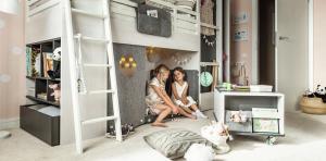 Több gyerek egy szobában: tippek a berendezésre