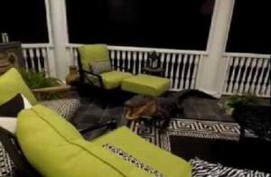 Erkélyen randalírozott egy szemtelen aligátor (videó)