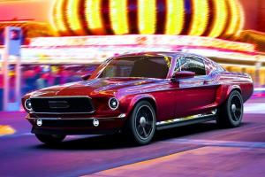 Ford Mustang, az új orosz sportkocsi