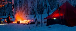 Sátorozás hóban
