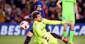 Király-kupa: Messi utolérte Kubalát, a Barca a pályán továbbjutott